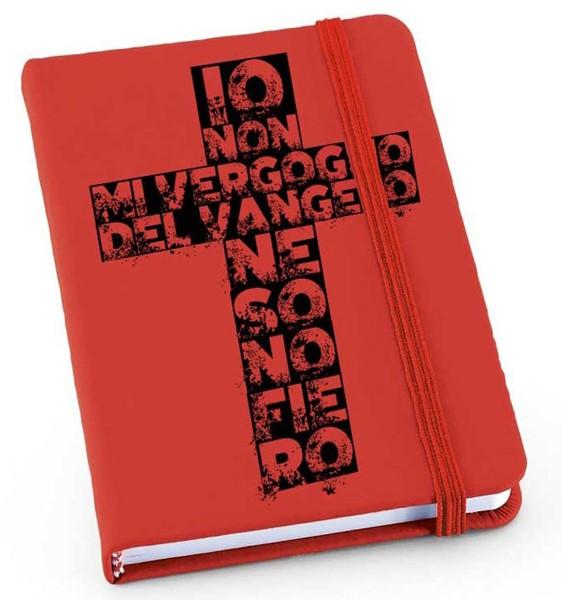 Quaderno Rosso Croce (Copertina con elastico)