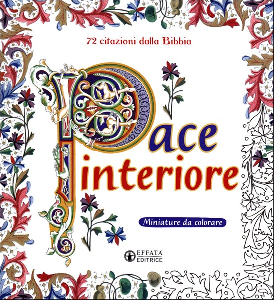 Pace interiore - Miniature da colorare per adulti (Brossura)