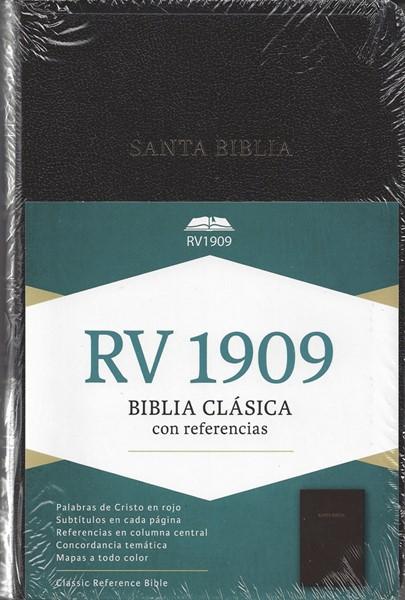 Biblia Clásica con Referencias RV1909 (Similpelle) [Bibbia Grande]