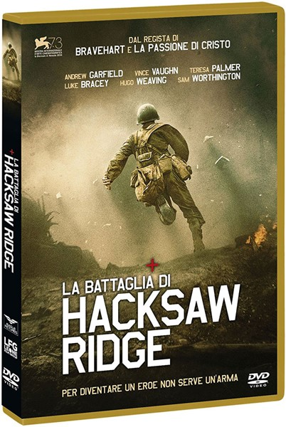 La battaglia di Hacksaw Ridge [DVD]