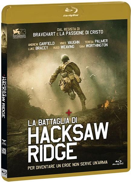 La battaglia di Hacksaw Ridge [Blu-ray Disc]