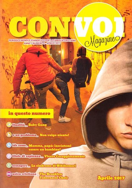 Rivista Con voi Magazine - Aprile 2017 (Spillato)