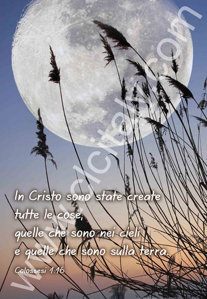 12 Poster con Versetto Biblico - Serie 4