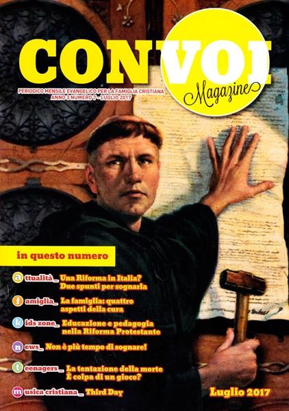 Rivista Con voi Magazine - Luglio 2017 (Spillato)
