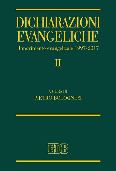 Dichiarazioni evangeliche II (Copertina rigida)