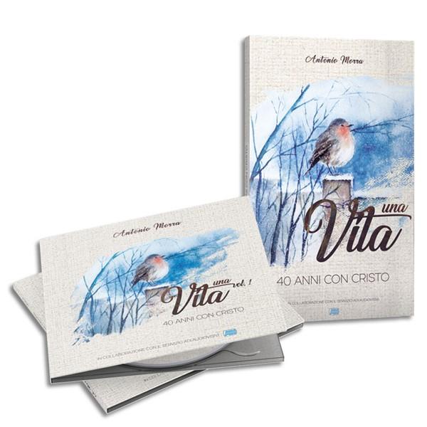 Una vita (Brossura) [CD + Libro]
