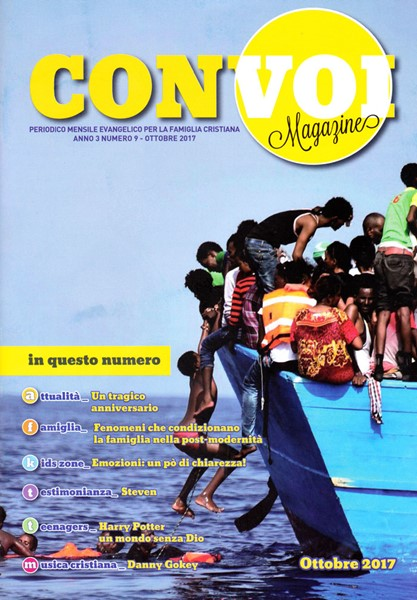 Rivista Con voi Magazine - Ottobre 2017 (Spillato)