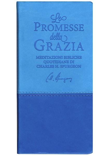 Le promesse della grazia Blu e Azzurro (Similpelle)