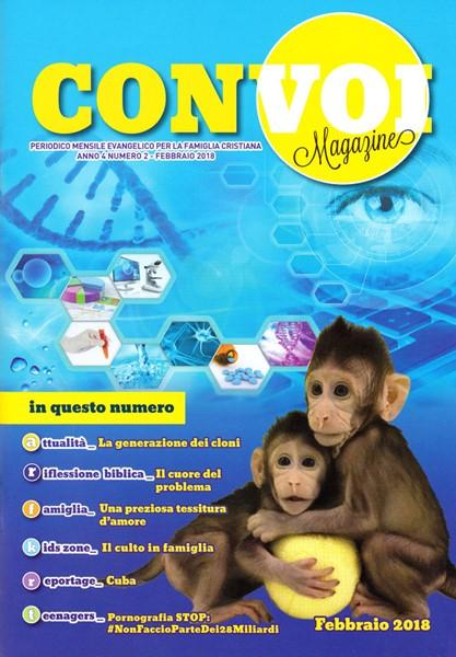 Rivista Con voi Magazine - Febbraio 2018 (Spillato)