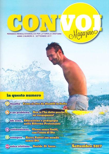 Rivista Con voi Magazine - Settembre 2017 (Spillato)