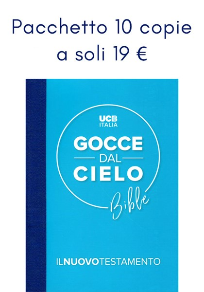 Nuovo Testamento Gocce dal Cielo - Pacchetto 10 copie a soli 19 € (Brossura)