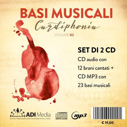Cardiphonia Vol.2 Cantato + Basi musicali [2 CD]
