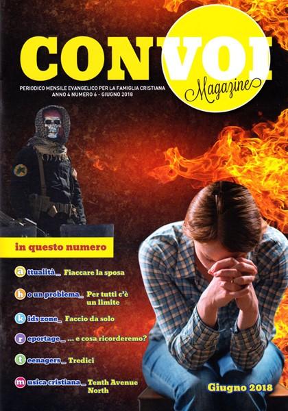 Rivista Con voi Magazine - Giugno 2018 (Spillato)