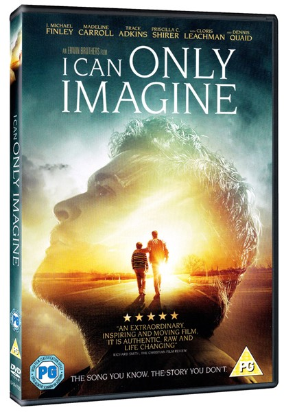 I can only imagine DVD in lingua inglese