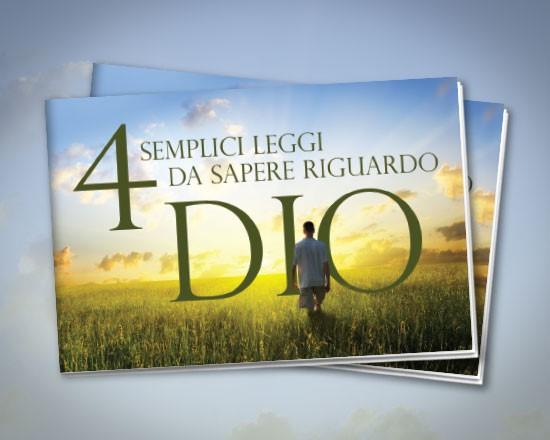 4 semplici leggi - Confezione da 50 opuscoli