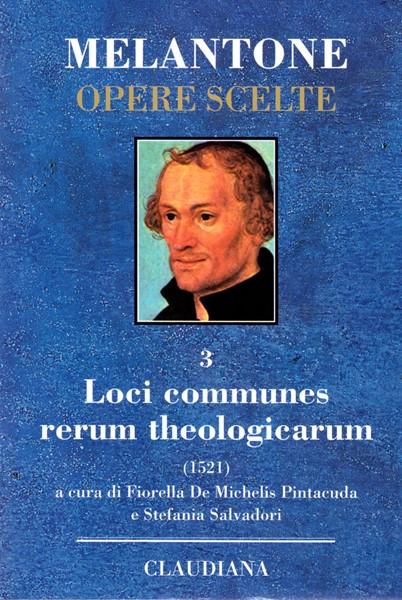 Loci communes rerumtheologicarum (Copertina rigida)