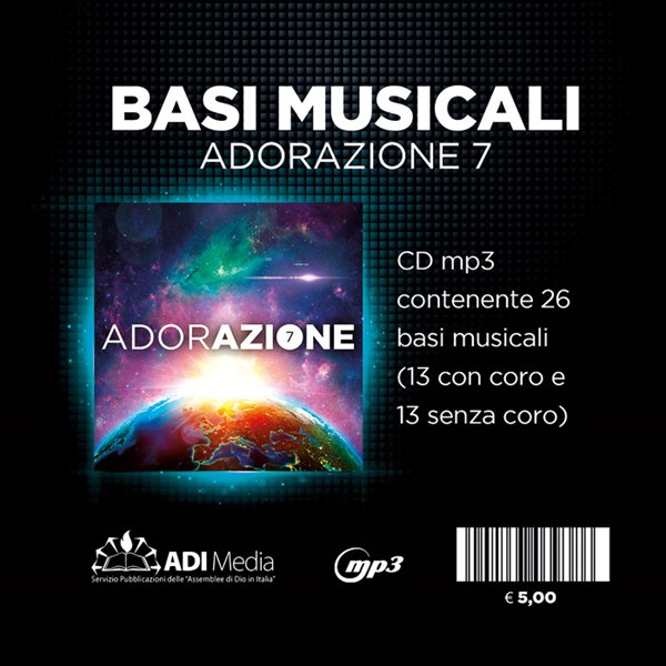 Adorazione 7 - Basi musicali Mp3