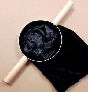 Sacchetto per le offerte in velluto nero