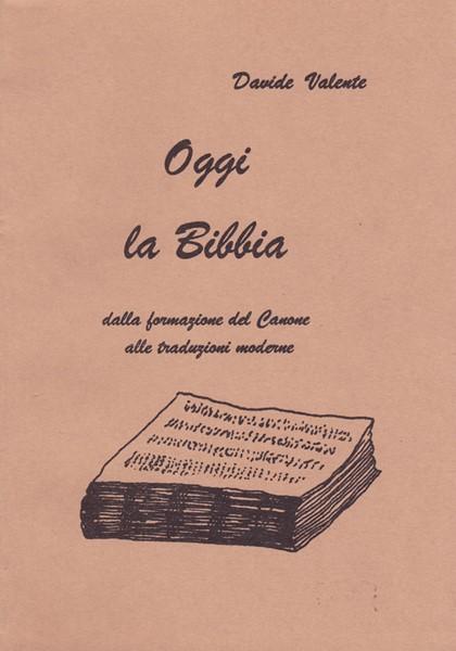 Oggi la Bibbia (Brossura)