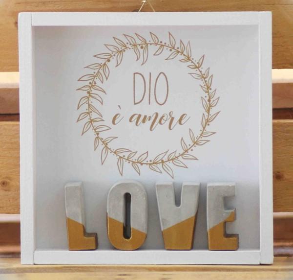 Cubotto Love dorato