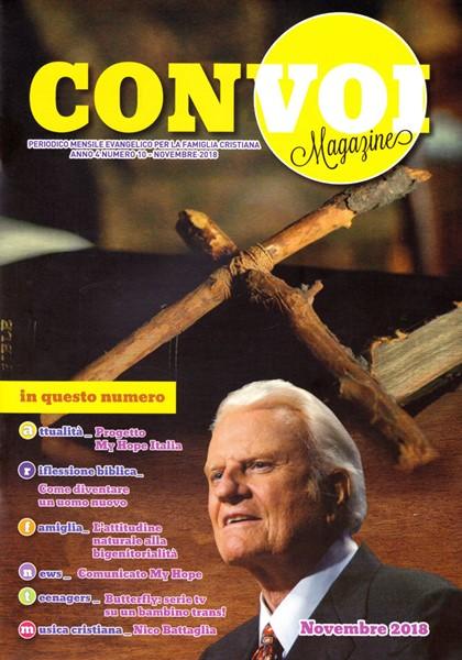 Rivista Con voi Magazine - Novembre 2018 (Spillato)