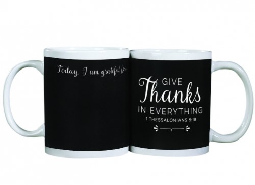 Tazza Give Thanks