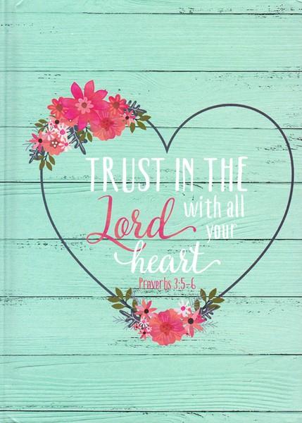 Quaderno Trust in the Lord (Copertina rigida)