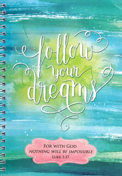Quaderno Follow your dreams (Spirale)