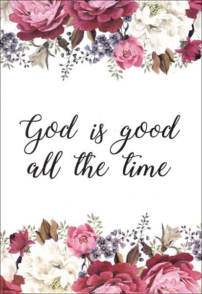 Quaderno God is Good All the Time (Copertina rigida)