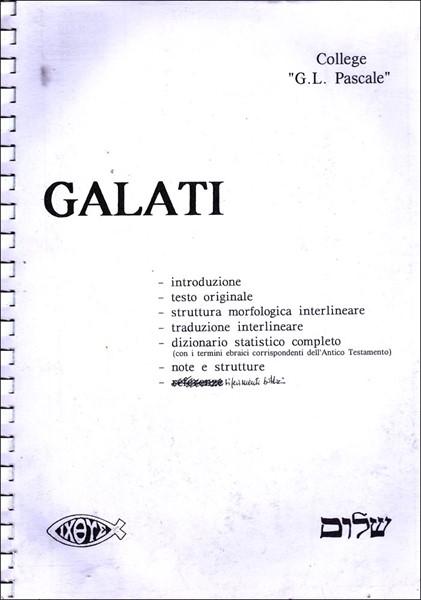 Galati Interlineare (Spirale)