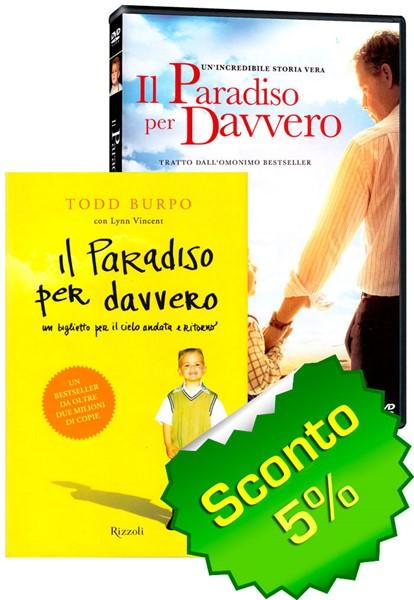 """Offerta """"Il Paradiso per davvero"""" DVD + Libro"""