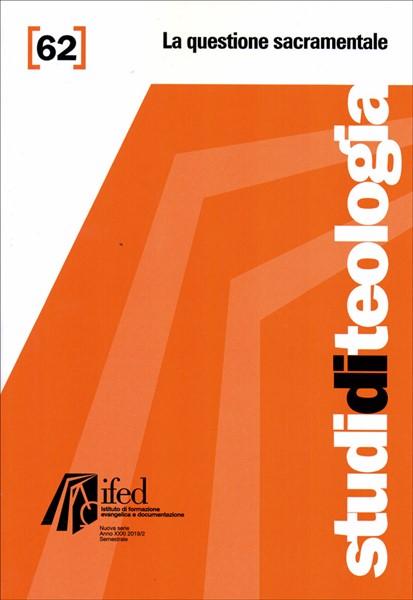 La questione sacramentale (Studi di teologia n°62) (Brossura)