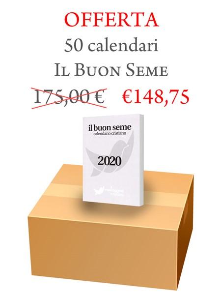 Scatola Calendari Il Buon Seme - 50 pezzi