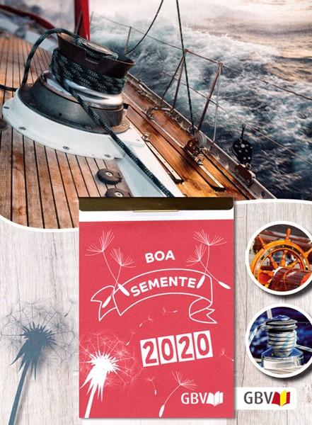 Calendario Il Buon Seme 2020 in Portoghese (Blocchetto da muro)