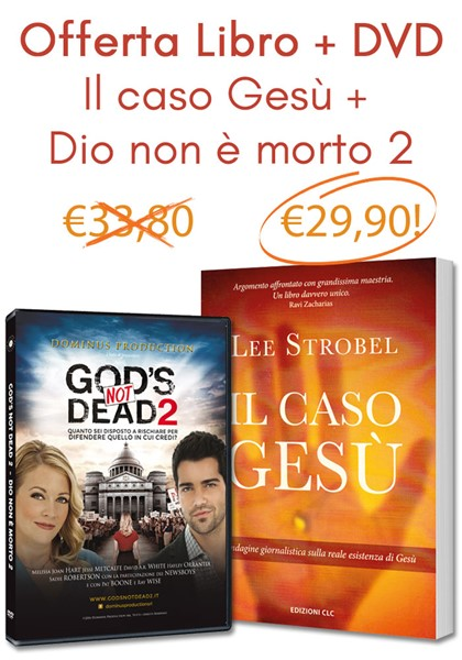 Offerta Il caso Gesù + Dio non è morto 2 (Brossura) [DVD+Libro]