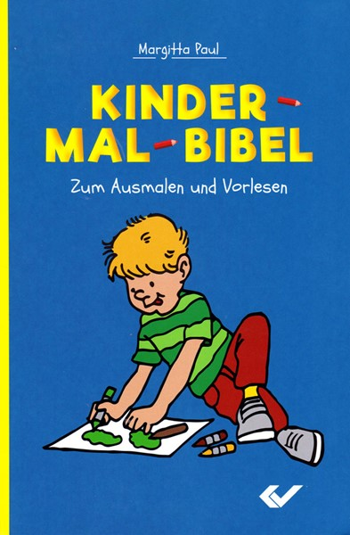 Kinder mal Bible - Bibbia da colorare in Tedesco (Brossura)