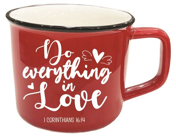 Tazza Do everything in love Rossa