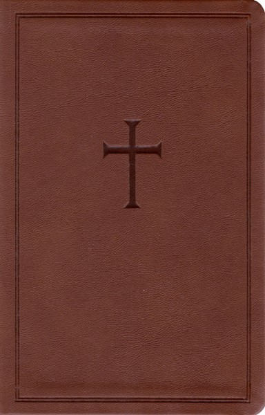 CSB Personal Size Bible - Brown (Similpelle)