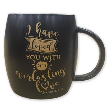 Tazza nera Everlasting Love