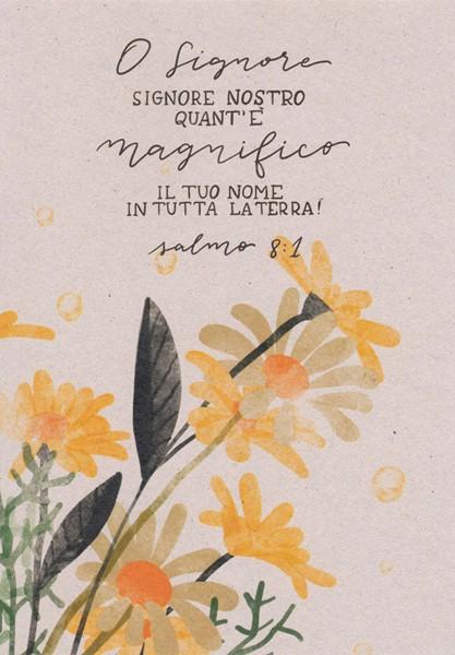 Quaderno Quant'è magnifico il tuo nome (Spillato)