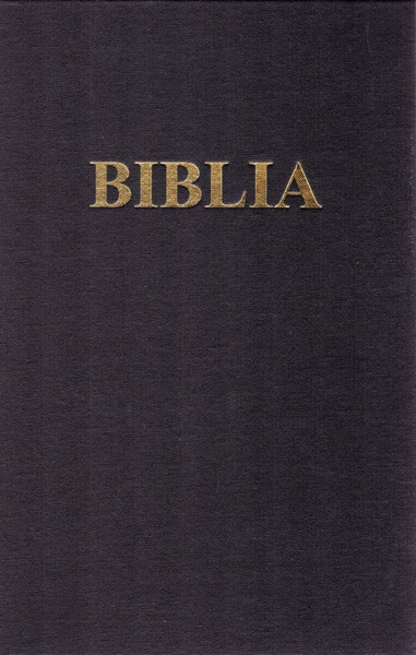 Bibbia in rumeno a caratteri grandi (Copertina rigida)