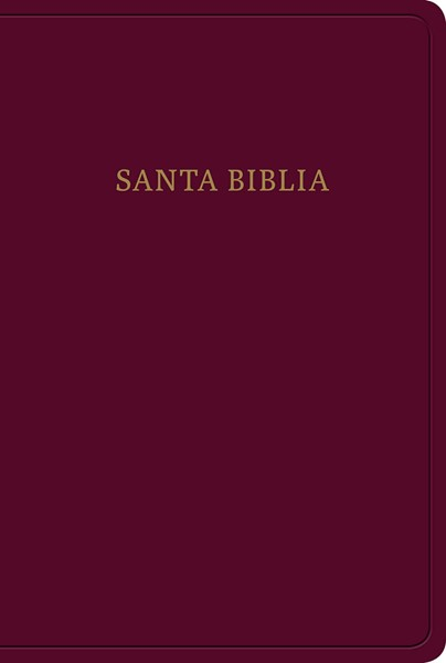 RVR60 Santa Biblia Letra grande, Tamaño manual (Similpelle)