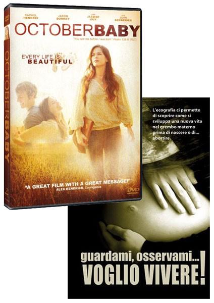 October Baby Sottotitolato in Italiano + Guardami osservami voglio vivere a soli €26,99 [2 DVD]
