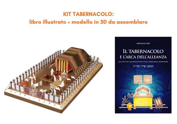 Kit tabernacolo: libro illustrato + modello in 3D da assemblare (Copertina rigida)