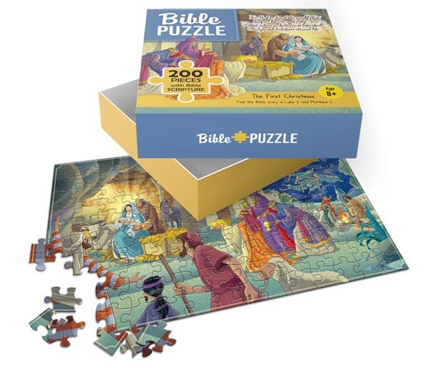 Puzzle The First Christmas 200 pezzi (Scatola)
