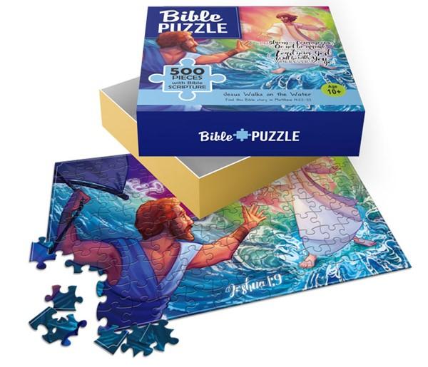 Puzzle Jesus walks on water 500 pezzi (Scatola)