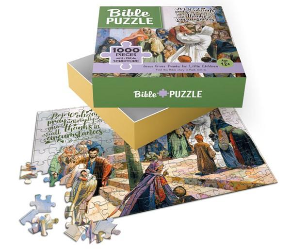 Puzzle Jesus and Children 1000 pezzi (Scatola)