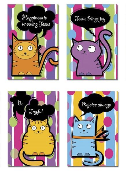 Block Notes Kitty Cat Series (Brossura)