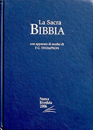 Bibbia da Studio Thompson NR06 - 34417 (SG34417) (Copertina Rigida) [Bibbia Grande]