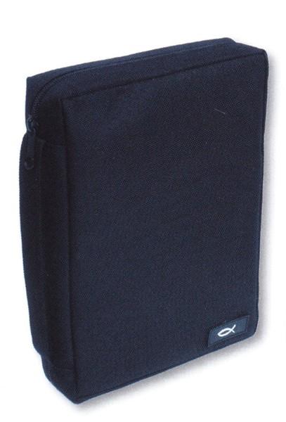 Copribibbia in poliestere Medio - Blu scuro (Stoffa)